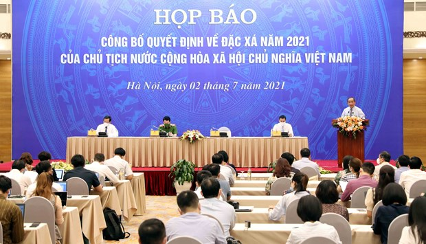 State President's amnesty decision announced hinh anh 1