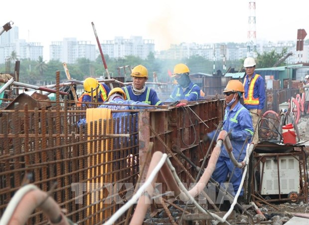 HCM City: 90-percent workload of 10 trillion VND anti-flooding project completed hinh anh 1