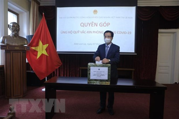 Vietnam wishes to receive Russia's first batch of COVID-19 vaccine in July or August: ambassador hinh anh 1