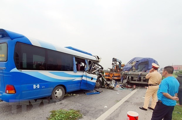 Traffic death toll hits 3,192 in first half hinh anh 1