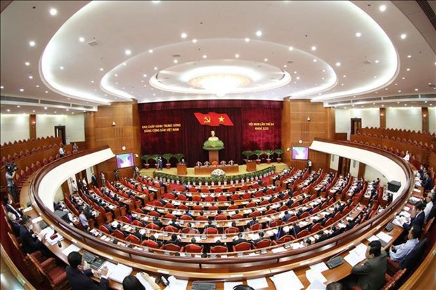 13th Party Central Committee's 3rd plenum: very important on agenda hinh anh 1