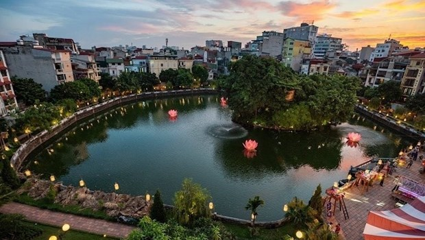 Hanoi to restore cultural values of lake in Temple of Literature complex hinh anh 1