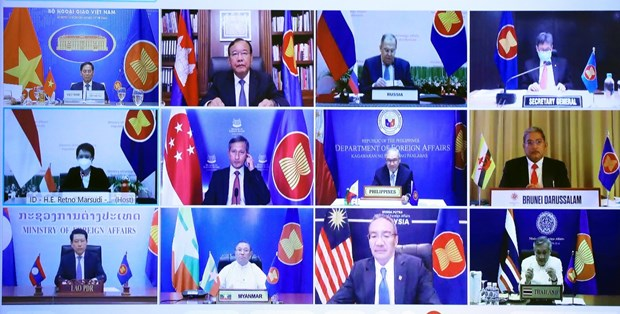 Vietnam attends Special ASEAN-Russia Foreign Ministers' Meeting hinh anh 2