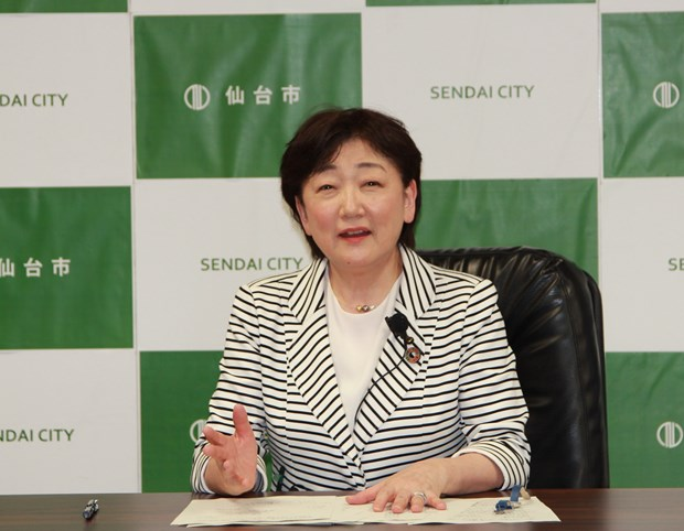 Japanese mayor suggests Vietnam equip people with disaster response skills hinh anh 1