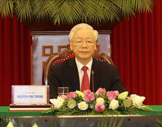 Party chief attends CPC and World Political Parties Summit hinh anh 1