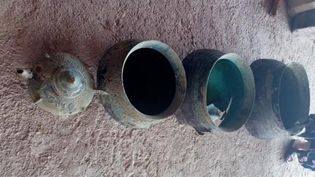 Đồ tạo tác bằng đồng được phát hiện ở Nghệ An, tỉnh Hinh Anh 1 محافظة