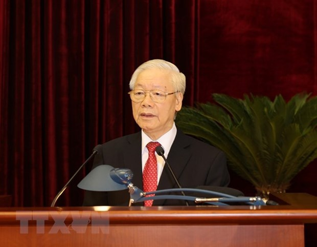 13th Party Central Committee wraps up third plenum hinh anh 1