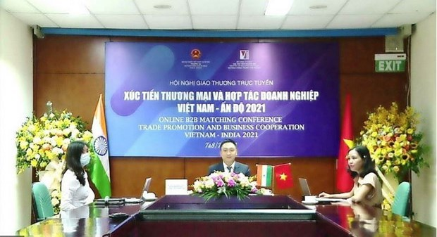 Vietnamese and Indian enterprises look for business opportunities hinh anh 1