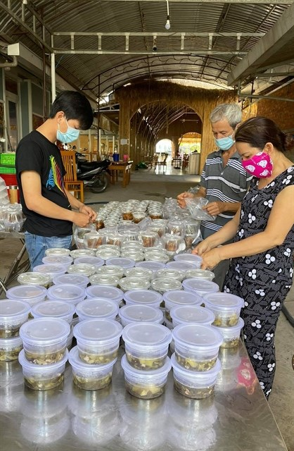 Mekong Delta localities tighten COVID-19 preventive measures hinh anh 1