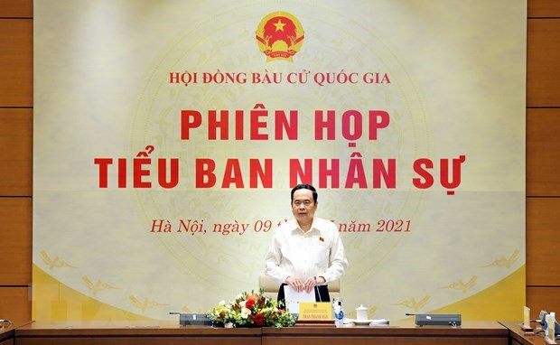 Personnel sub-committee of National Election Council convenes 4th meeting hinh anh 1