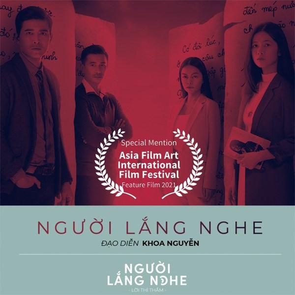 Vietnam's horror film wins three awards at Asian film art festival hinh anh 1