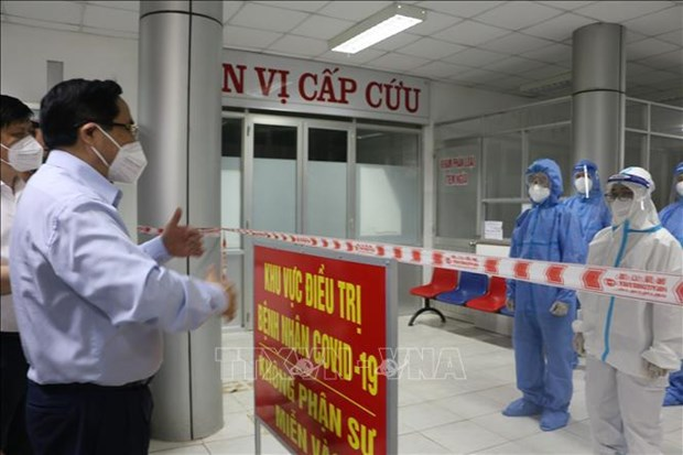 PM asks Tay Ninh, Long An to strengthen COVID-19 prevention, control hinh anh 2