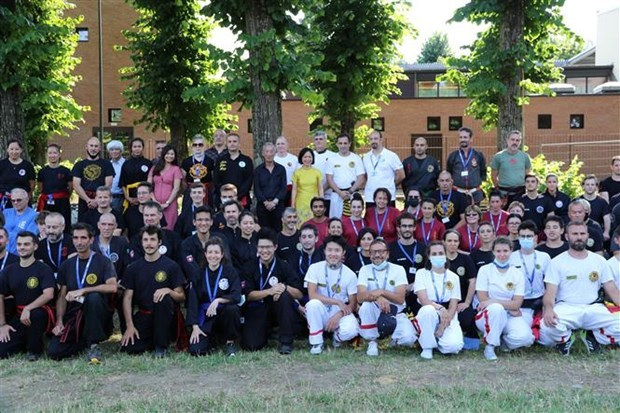 Vietnam traditional martial arts federation in Italy established hinh anh 1