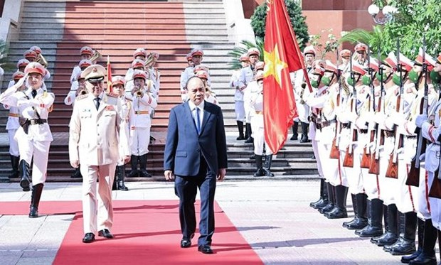 President spotlights important role of public security forces hinh anh 1