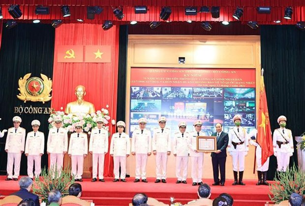 President spotlights important role of public security forces hinh anh 2