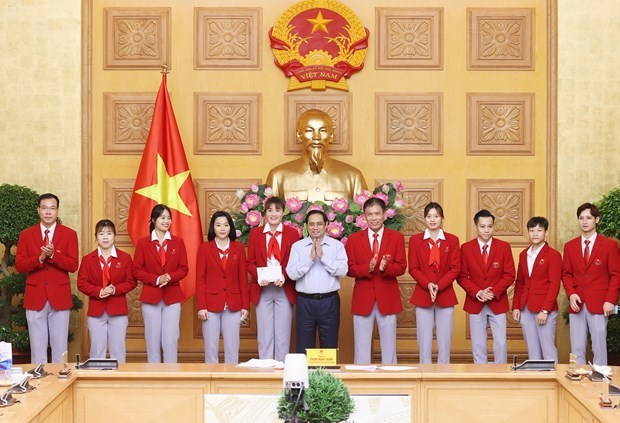 Sport achievements demonstrate Vietnamese people's will: PM hinh anh 2