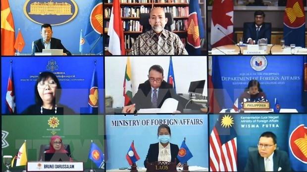 ASEAN, Canada hold 18th annual dialogue hinh anh 1