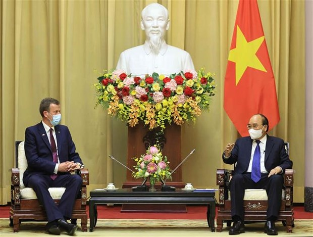 President hosts Australian minister for trade, tourism and investment hinh anh 1