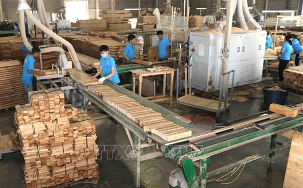 Wood exports to EU surge 36.4 percent in H1 hinh anh 1