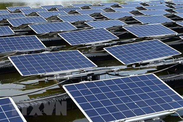 Laos to build world's largest hybrid floating solar power plant hinh anh 1
