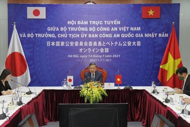 Vietnam, Japan boost ties in public security hinh anh 1