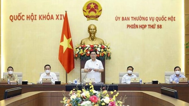 NA Standing Committee wraps up 58th meeting hinh anh 1