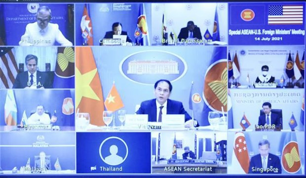 ASEAN, US agree to boost consultation, dialogue, cooperation hinh anh 1