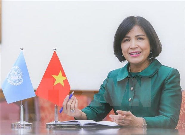 UNHRC adopts Vietnam-proposed resolution on climate change, human rights hinh anh 2