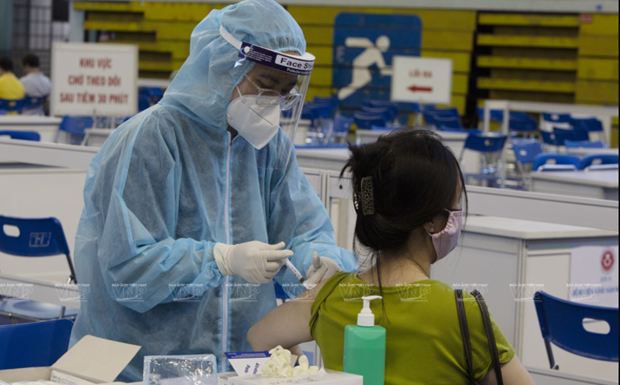Vietnam confirms 1,196 new COVID-19 infections on July 14 morning hinh anh 1