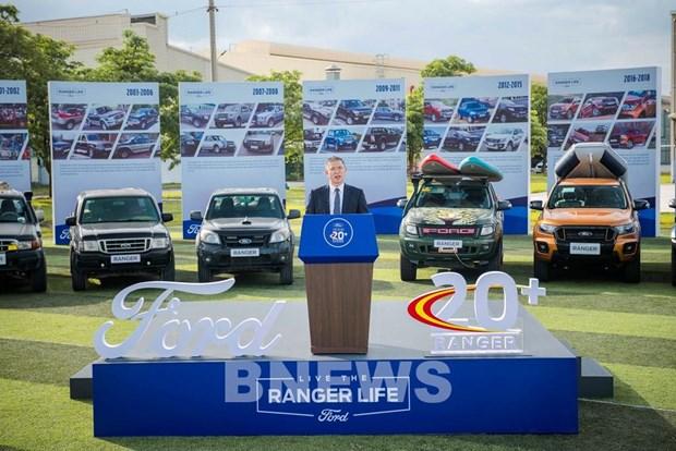Hin An1 là dự án mở rộng giai đoạn đầu của cơ sở Hi Dương Ford Việt Nam
