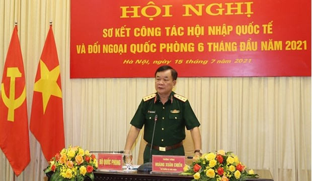Defence diplomacy carried out proactively, flexibly, effectively: conference hinh anh 2