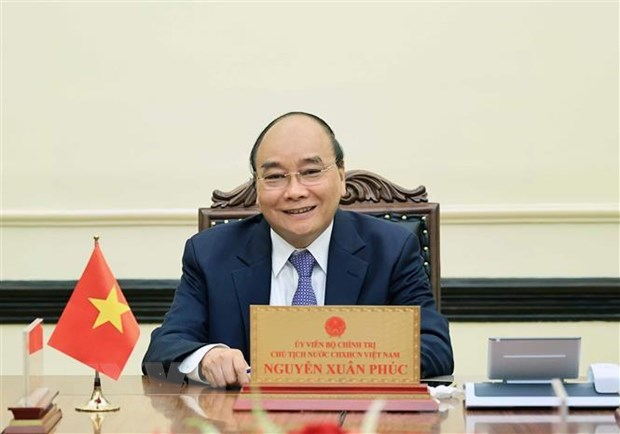 Vietnamese, Indonesian Presidents commend progress in bilateral ties hinh anh 1