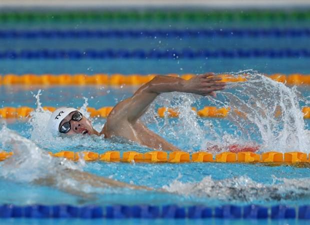 Runner Lan, swimmer Hoang to fly the flag for Vietnam at Tokyo Games hinh anh 2