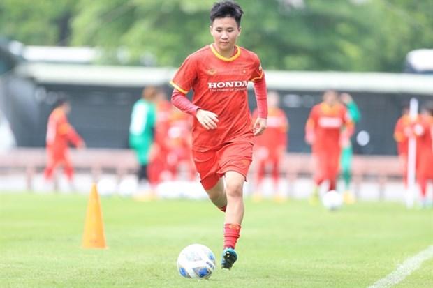 Training kicks off for Vietnamese women's football team hinh anh 1