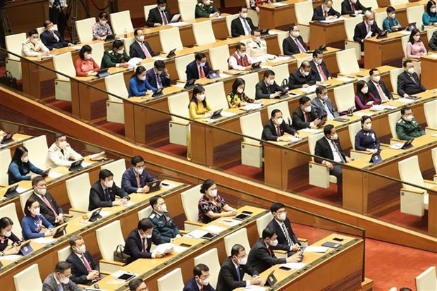 15th National Assembly's first session opens hinh anh 2