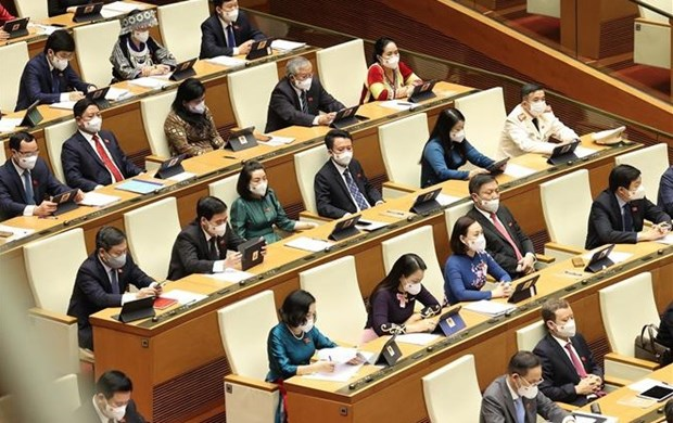 15th NA's first session: premise, momentum for legislative activities hinh anh 2