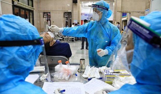 COVID-19: Vietnam adds 2,155 cases to national count on July 20 morning hinh anh 1