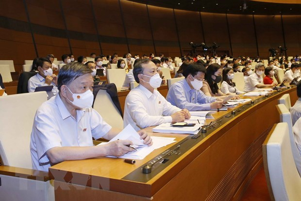 15th NA's first session: law building should be reformed hinh anh 1