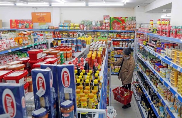 Hanoi ensures sufficient supply of essential goods hinh anh 1