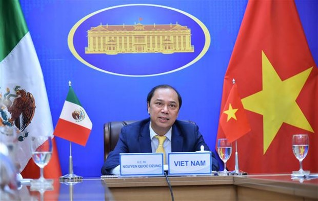 Political consultation held to reinforce Vietnam - Mexico relations hinh anh 1