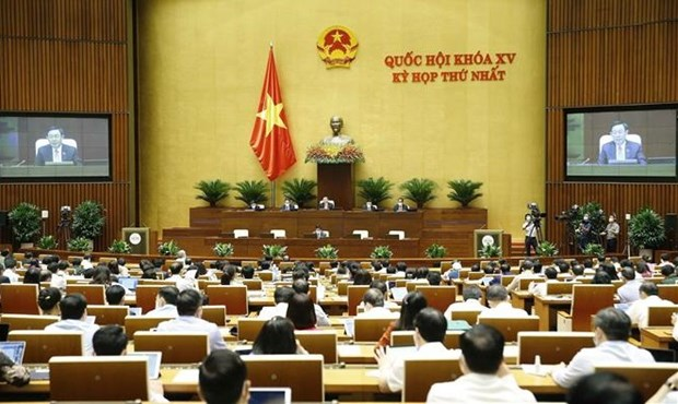 Government proposes keeping structure at 15th NA's first session hinh anh 1