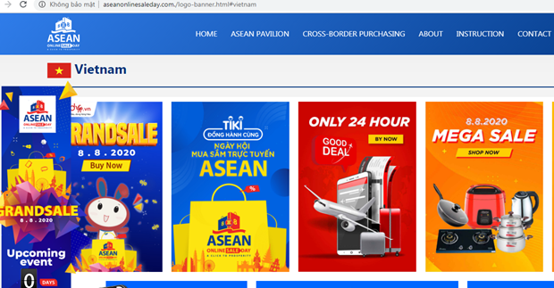 ASEAN Online Sale Day 2021 slated for August 8-10 hinh anh 1