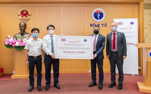 Vietnam receives 150.000 boxes of medicines for non-communicable diseases hinh anh 1