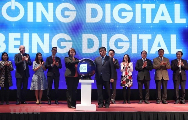Support package aims to promote digital transformation of businesses hinh anh 1