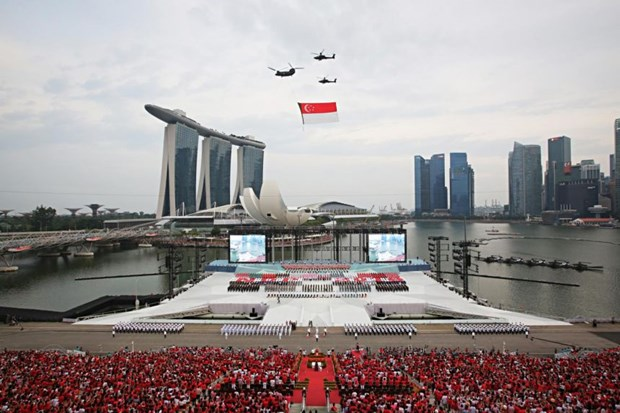 Singapore postpones National Day Parade over COVID-19 concerns hinh anh 1