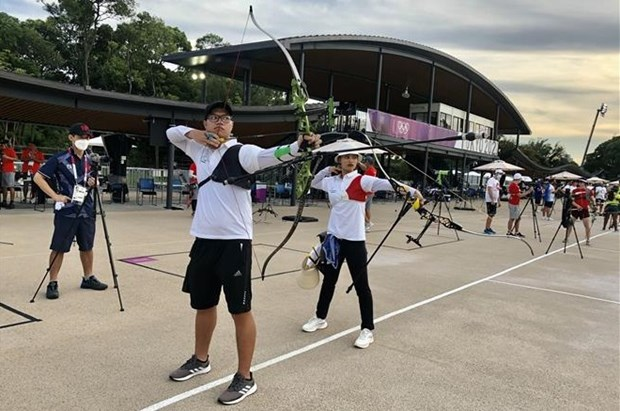 Vietnamese athletes start competing at Tokyo 2020 Olympics hinh anh 1