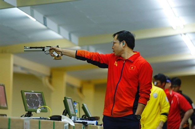 Vietnamese marksman fails to defend title in men's 10m air pistol at Olympics hinh anh 1