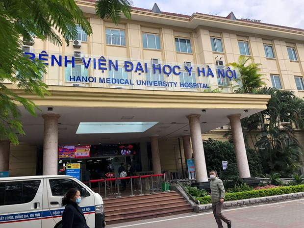 Intensive care centre for COVID-19 patients to be set up at Hanoi Medical University Hospital hinh anh 1