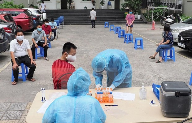 COVID-19: 3,552 cases added to national tally on July 25 hinh anh 1