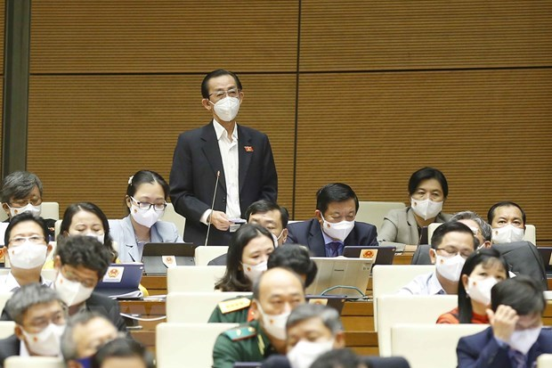 Legislators debate results of thrift practice, wastefulness prevention in 2020 hinh anh 1